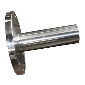 Flanged Tail Shaft Redesign for OCI Chemicals in Green River - KWS Manufacturing