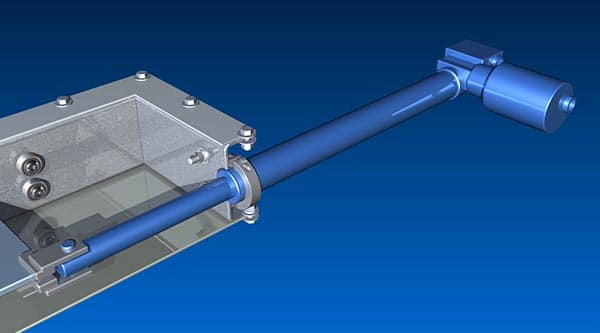 Electrically Actuated Slide Gates - KWS