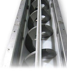 Shaftless Screw Conveyors - Engineered Equipment and Solutions - KWS Manufacturing