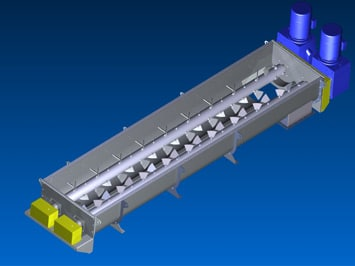 Design-Build System for Dewatering, Mixing, and Drying Oilfield Drill Cuttings - KWS