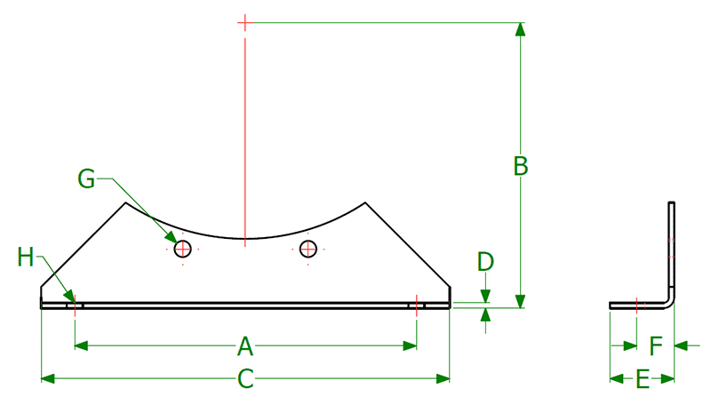 Dimensional Diagram for FT9
