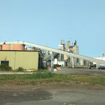 Metering Hot Lime from Silo at International Paper in Ticonderoga, NY - KWS Manufacturing