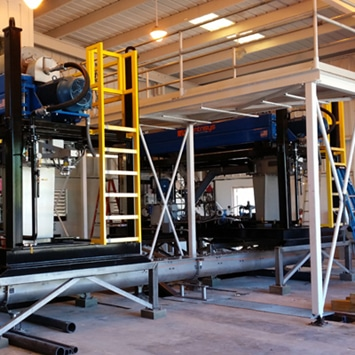 Shaftless Vertical Screw Conveyor System for Transferring Class B Biosolids of Pembroke Pines, FL WWTP - KWS Manufacturing