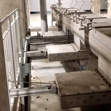 Biosolids Cake Handling System for Storage and Truck Load Out at Waterloo, ON WWTP - KWS Manufacturing